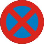 Prohibido parar y estacionar