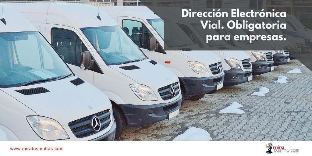 Dirección Electrónica Vial para empresas