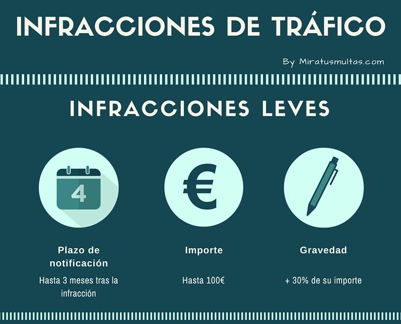 Infracciones Leves - Resumen