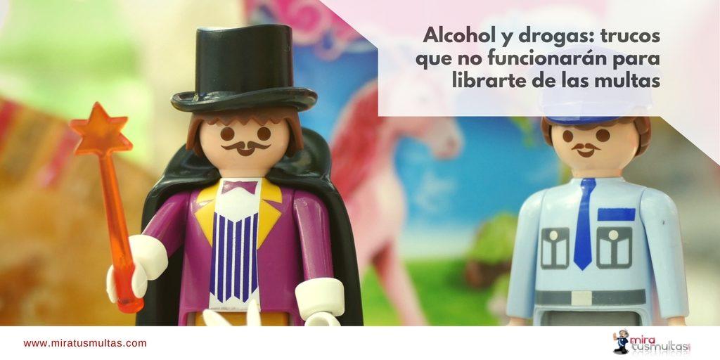 Alcohol y drogas: trucos en controles que no funcionan. Miratusmultas