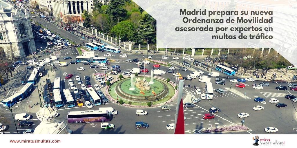 Nueva Ordenanza Municipal de Movilidad de Madrid. Miratusmultas.com