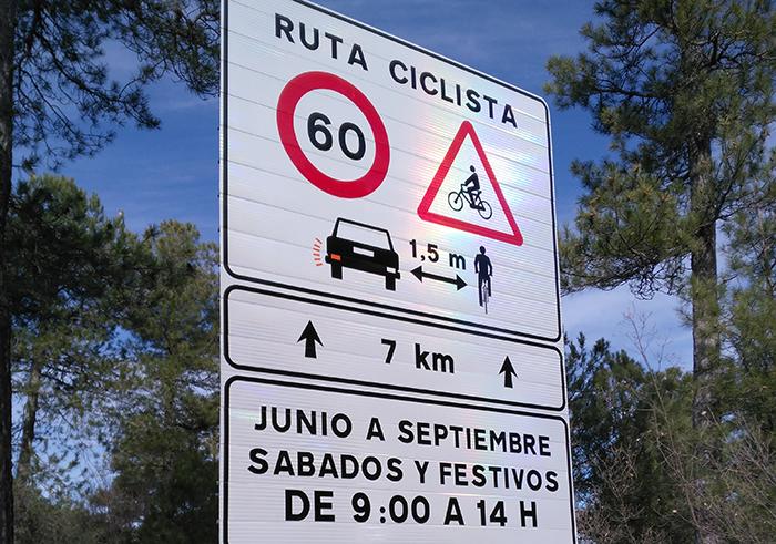 Señalización Ruta Ciclistas - DGT