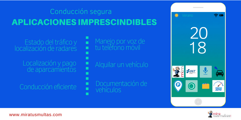 Apps imprescindibles conducción - Miratusmultas