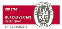 Sello ISO 27001 Gesthispania