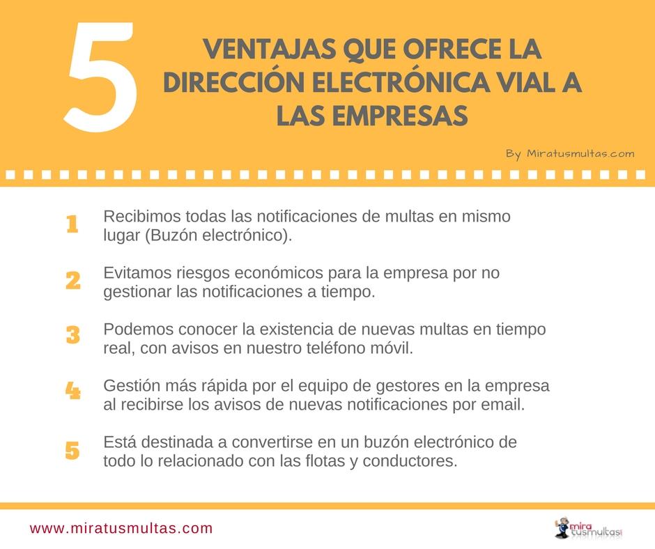 5 Ventajas que ofrece la DEV a las empresas. Miratusmultas.com