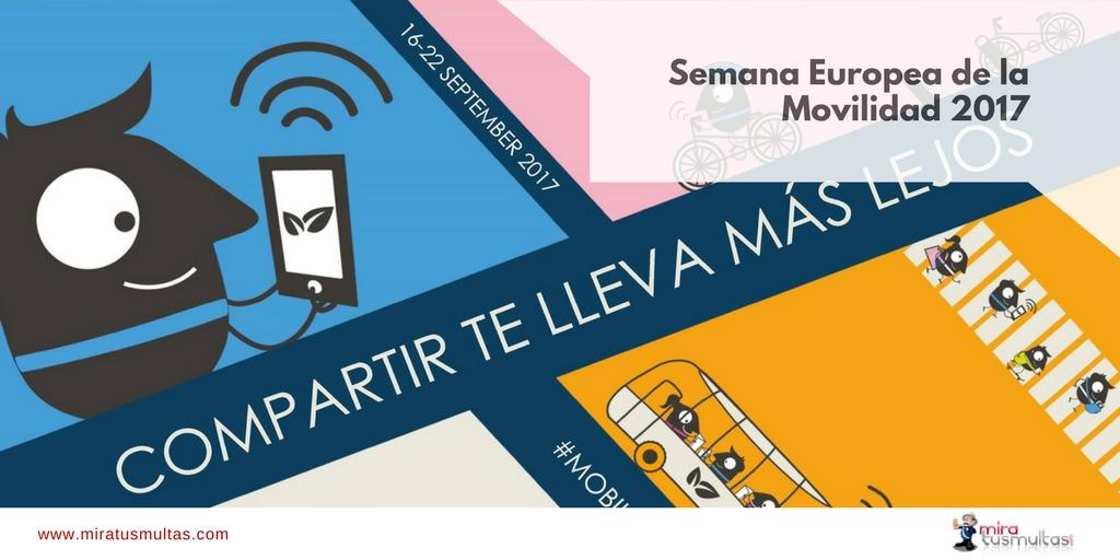 Semana Europea de la Movilidad 2017. Miratusmultas.com