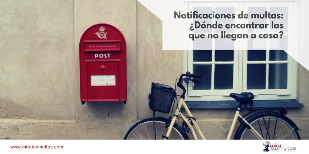 Notificaciones de multas. Miratusmultas.com