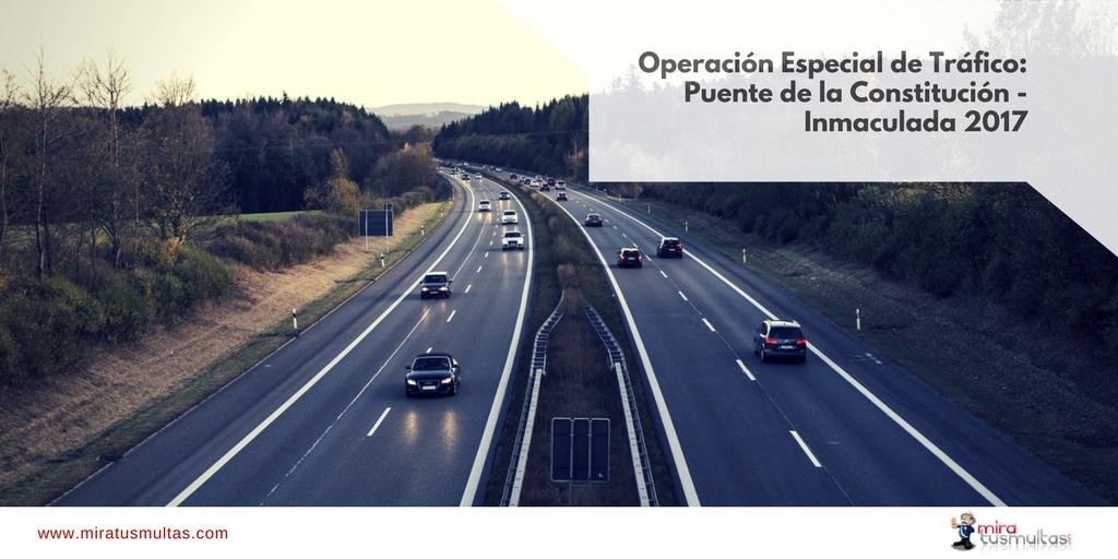 Operación Especial de Tráfico: Puente de la Constitución-Inmaculada. Miratusmultas.com